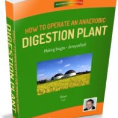 how to operate a biogas plant ebook cover