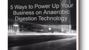 Anaerobic digestion power up-cove