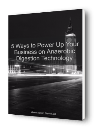 Anaerobic Digestion Technology: Anaerobic digestion power-up eBook cover