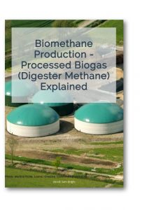 Image of cover of biomethane production pdf.
