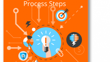 Image shows the Biogas Production Process Steps eBook cover image.