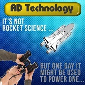 anaerobic digester technology rocket cartoon