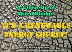 Sludge is a renewable energy source