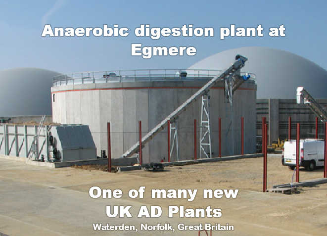 new anaerobic-digestion plant Norfolk