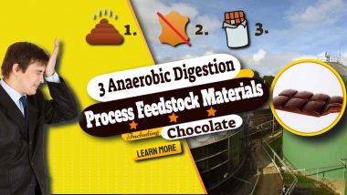 """Image text: """"Anaerobic Digestion Process Feedstock Materials."""""""