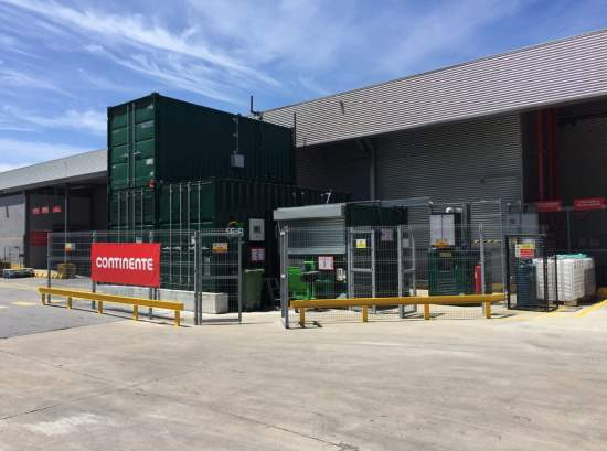 Small scale anaerobic digestion at a supermarket Portugal