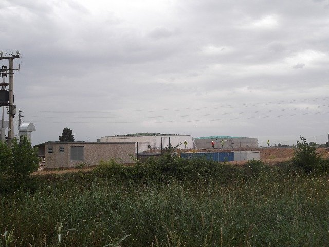 A facility for the anaerobic digestion of biogas