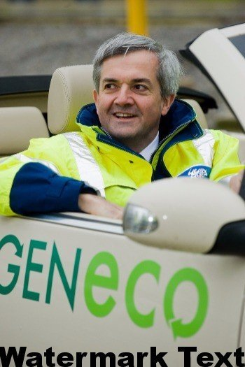 ADBA's Chris Huhne in Bio-Bug  CC BY-NC-ND by DECCgovuk