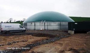 Image illustrates Anaerobic digestion Northern Ireland