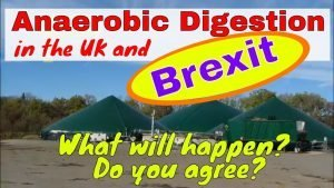Image illustrates anaerobic digestion UK and Brexit from the EU, notwithstanding the Feed-In Tariff ending.