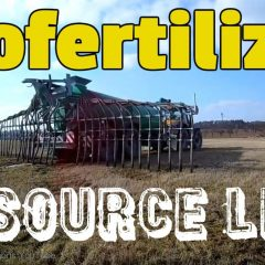 Image shows biofertilizer application using soil injection.