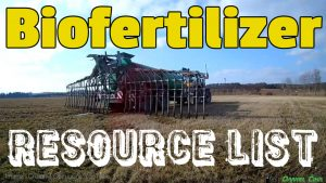 Image shows biofertilizer application using soil injection.