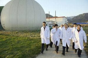 An example picture of China's biogas expertise