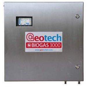 Image shows a biogas analyzer.