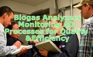 Technician gas analysis - studying monitoring results.
