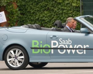 The Biogas Powered Car (shown here) is one of the less well known advantages of anaerobic digestion.