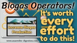 Optimisation of Biogas Production Thumbnail and featured image.