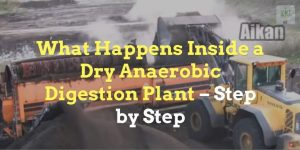 This featured image shows te thumbnail which introduces our first Dry Anaerobic Digestion video.