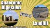 "Article thumbnail which states: ""Anaerobic Digestion vs Landfill."