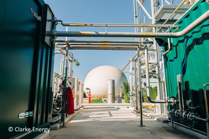 The Clarke Energy Plant