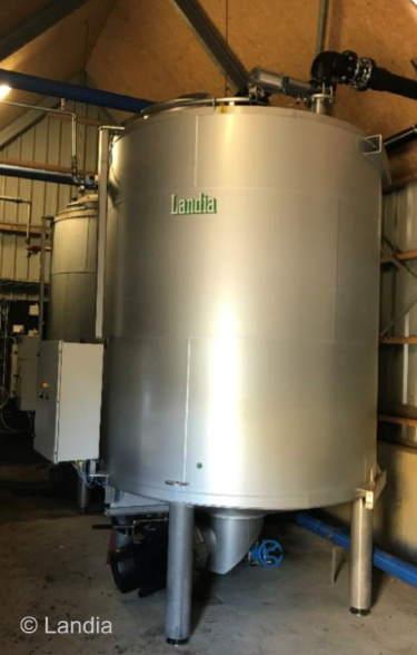 Landia Pasteuriser unit.