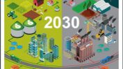 Image shows report cover on How to decarbonise biomethane 2030 pathway.
