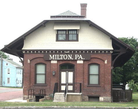 The Main Building at Milton WwTW.