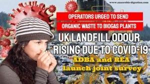 Landfill Odour rises meme to show effect of COIVID-19 on UK landfill odour.