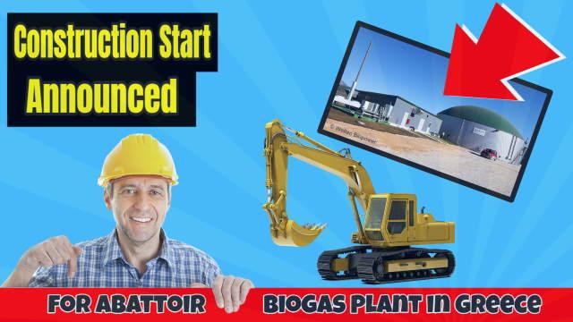 Greek abattoir to get biogas plant.