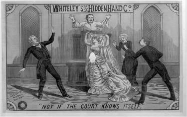 An image from the Whiteleys original hidden hand Co. collection.