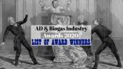 "Image with text: ""AD and Biogas Industry Award Winners 2020""."