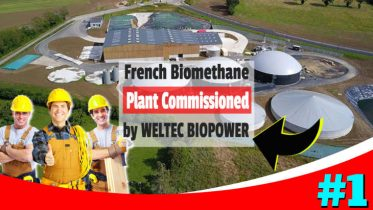 French Biomethane Plant by Weltec