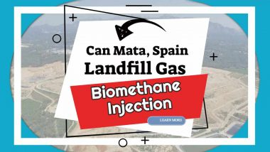"Featuresd image text: "" Can Mata Spain, Biomethane injection project"