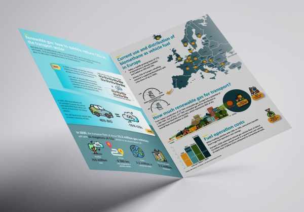 EU Biomethane in Transport Leaflet