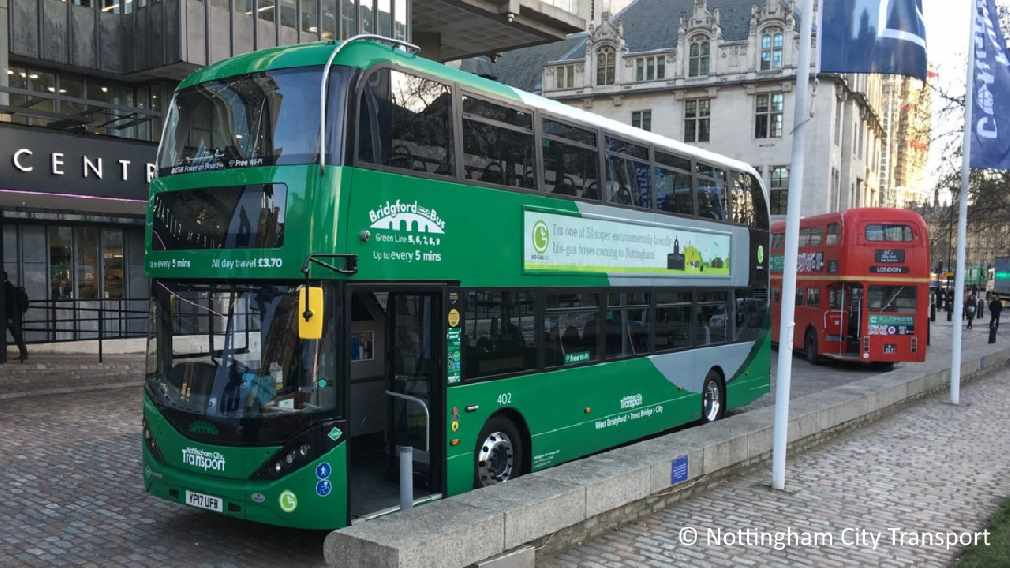 What is Biomethane? Here it's use in fuelling a bus fleet is shown.
