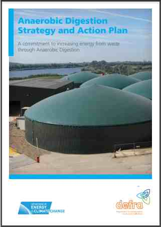 UK Anaerobic Digestion Strategy and Action Plan 2011 pdf cover