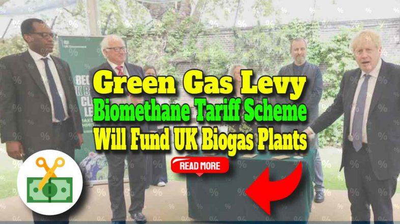 Green Gas Levy Biomethane Plants Tariff