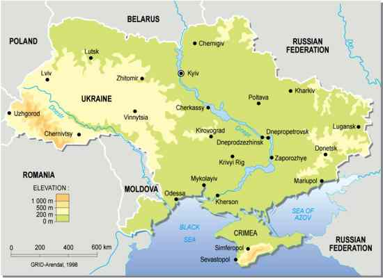 "Image shows: ""Ukraine map Wikimedia"""