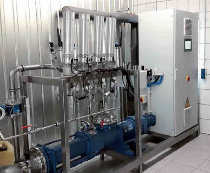 Ultrasound biogas destructor installation by Ing-Buse