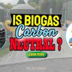"Image text: ""Is Biogas Carbon Neutral""."